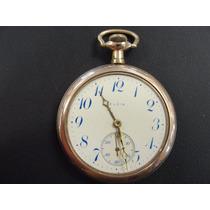 Relógio Elgin Em Ouro Plaquet - Vintage - Oportunidade !!!