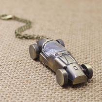 Relógio De Bolso Bronze Antigo - Modelo Réplica Formula 1