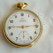 Relógio De Bolso Mondaine 17 Rubis - Colecionador!!