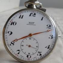 Relógio Bolso Tissot 15 Jewels - 2702782-gigante -raridade!