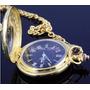 Relogio De Bolso Vintage Dourado Holanda