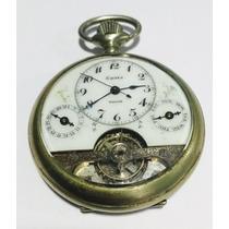 Hebdomas Calendário Relógio De Bolso Antigo Raro - 8 Dias