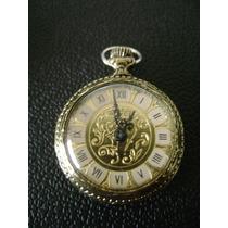 Lote De 02 Antigos Relógios Em Plaquê De Ouro A Corda