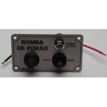 Painel De Bomba Aço Inox C/ Chave De Comando Porta-fusível F