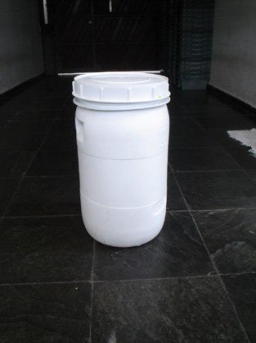 Bombonas Plásticas Branca De 45 Litros Com Tampa