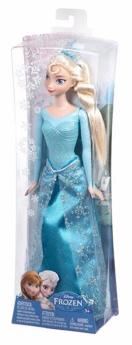 Boneca Princesa Elsa Disney Frozen Mattel
