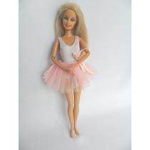 Boneca Barbie Bailarina Mattel Coleção 1999 Indonésia
