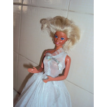 Boneca Barbie Antiga Da Estrela Joelhos Flexíveis