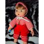 Antiga Boneca Bebê Beijinho Estrela 1977- Medalha Vermelha