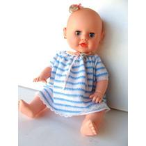 Boneca Antiga Meu Bebê Da Estrela 80