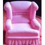007 Brq- Antiga Poltrona- Um Sofá Da Barbie