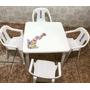 Kit Infantil: Mesa + 4 Cadeiras Da Xuxa - Goyana Novo Antigo