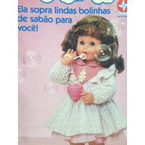 Boneca Grande Bolinha De Sabão - Estrela - Nova - Anos 90