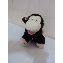 Boneco De Pelúcia Macaco Cor Marrom