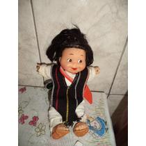 Boneca Antigo Lindo Com Linda Sandalinha