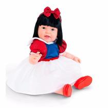 Boneca Morena C/ Vestido Princesa Charmosa Original Cotiplás