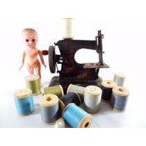 Antiga Maquina De Costura De Lata Estrela Anos 40! Brinquedo