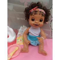 Boneca Baby Alive Troninho Fala-português .morena Lidissima