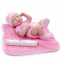 Bebê Reborn Completamente Realista Corpo Todo Em Vinil