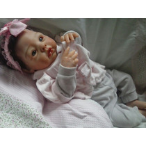 Boneca Bebê Reborn Molde Audrey