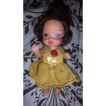 Boneca Bebe Princesa A Bela E A Fera Mattel Baby Disney