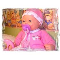 Boneca Bebe Fofucho Expressão Real,chora,ri,ronca,dorme
