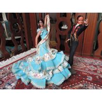 Boneca Espanhola E Bailaor Marin Chiclana 21 E 25cm #3775