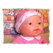 Boneca Bebê Fofucho Em Silicone.chora,ri, Ronca E Dorme