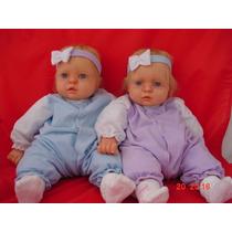 Bebê Reborn Gemeas Importadas Pronta Entrega Rj