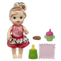 Boneca Baby Alive Meu Lanchinho Loira Hasbro Parc S/juros