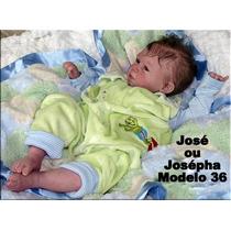 Bebê Boneca Reborn José Ou Josépha - Parece Um Bebê Real