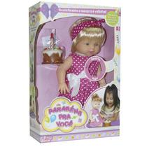 Boneca Parabéns Baby Brink