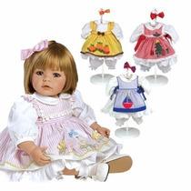 Boneca Realista Adora Doll 4 Estações +4 Roupas Extras!