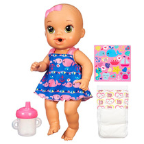 Boneca Baby Alive - Hora Do Xixi Morena Hasbro