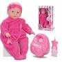 Boneca New Bebê Mania Xixi 5330 - 50 Cm - Roma