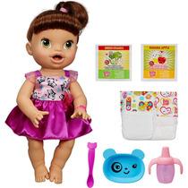 Baby Alive Hora De Comer Morena Hasbro A8346