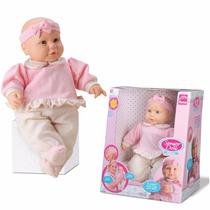 Boneca Bebê Repete Fala Jensen Sensor Doll Roma Original