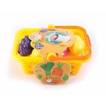 Cesta De Frutas Infantil Grande - 12 Peças - Bel Fix