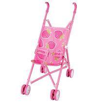 Carrinho De Boneca Bebê Passeio Criança 6066-a Fenix