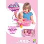Boneca Bebê Hora Da Duchinha Vem Com Acessórios De Banho