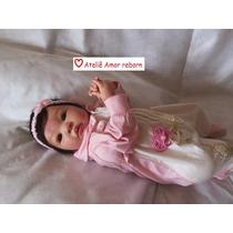 Bebê Boneca Reborn Shyann Sob Encomenda,corpo De Tecido