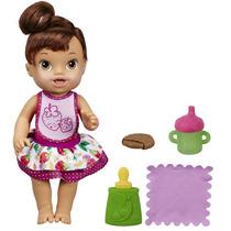 Hasbro Boneca Baby Alive - Meu Lanchinho Morena
