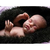 Boneca Bebê Reborn Corpo Vinil Perfeita Recem Nascido