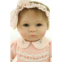 Boneca Tipo Reborn Bebe Realista Bebe Menina