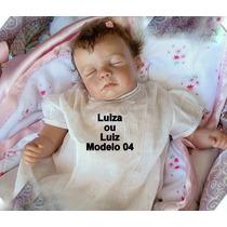 Bebê Reborn Luiza Ou Luiz Boneca Que Parece Um Bebe Real
