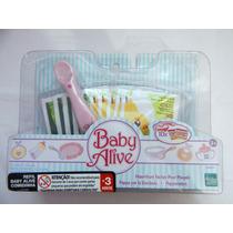 Refil Baby Alive Comidinha + Colher Com Ímã - Hasbro