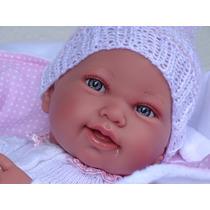 Bonecas Tipo Reborn Bebe Realista Gatinha, Lua E Shortinho.