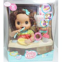 Baby Alive Meu Lindo Bebê Morena (fala Português)