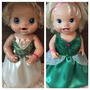 Vestidos Baby Alive Princesa Tiana Ou Princesa Ariel