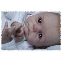Boneca Recém-nascido Reborn Vinil, Oack Menino E Menina